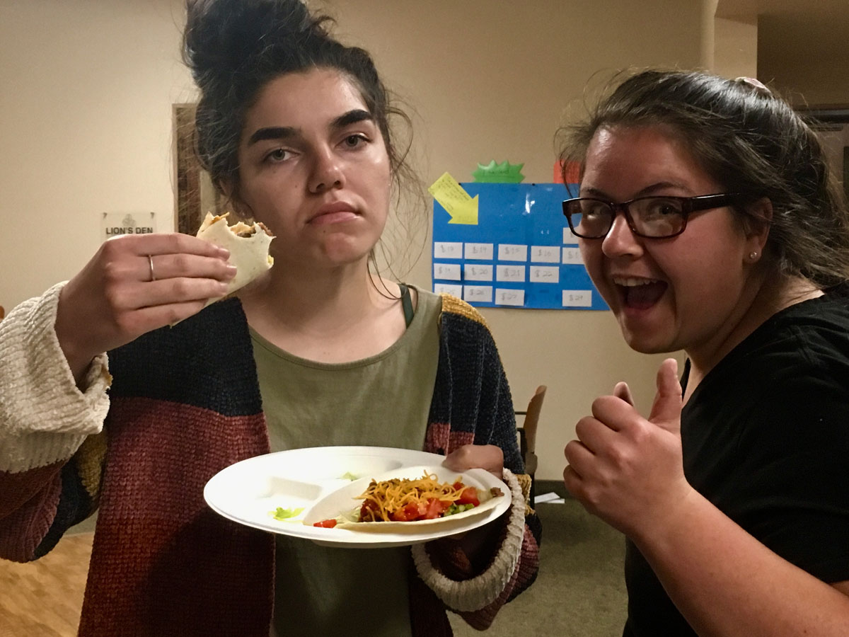late night taco bar student life