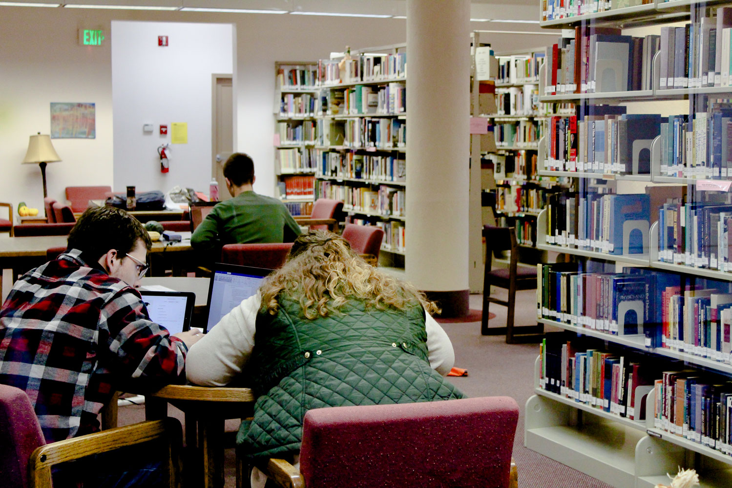 Christian college library